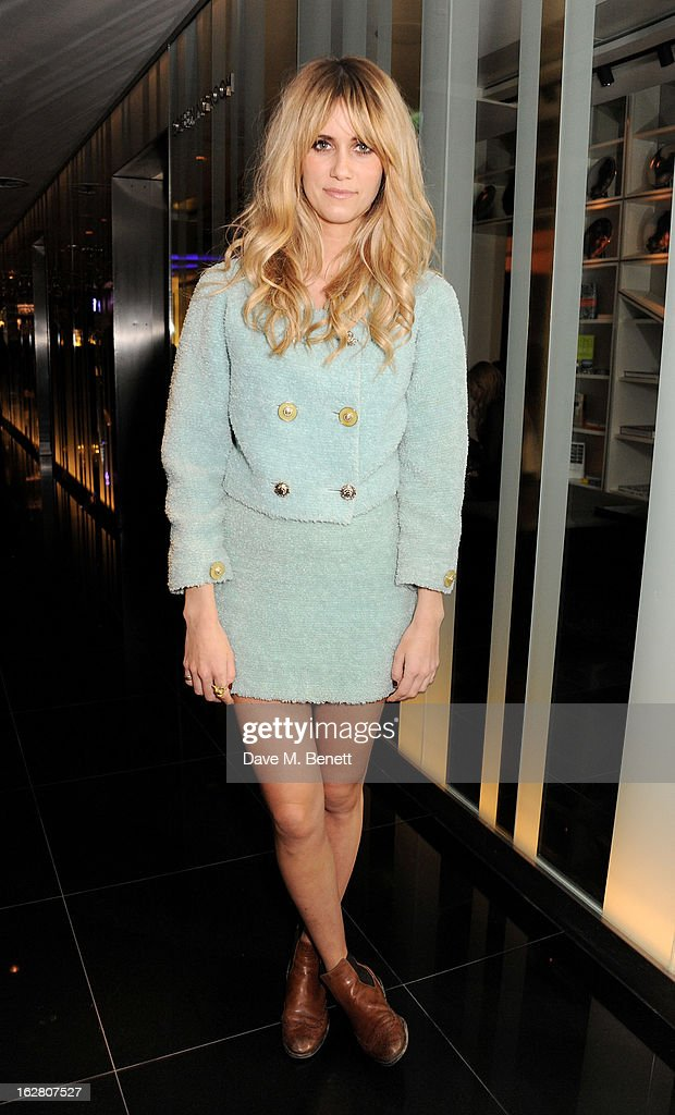 Jade Williams aka Sunday Girl parties in Wyld at W London Leicester Square after the NME Awards whilst drinking 'CIROC 'n' Roll' cocktails on February 27, 2013 in London, United Kingdom.