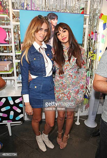 Jade Williams and Zara Martin attend the Zara Martin x Skinnydip London party celebrating the launch of 'The Wild Collection' collaborative headphone...