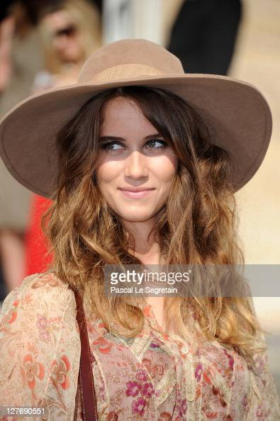 Jade Williams attends the Christian Dior Ready to Wear Spring / Summer 2012 show during Paris Fashion Week at Musee Rodin on September 30 2011 in...
