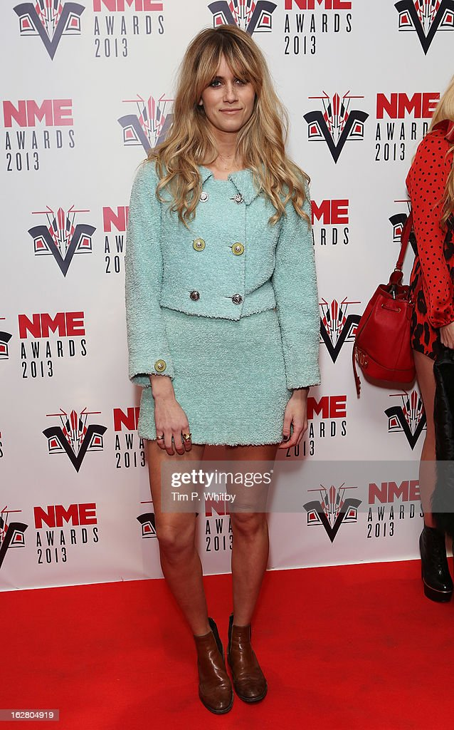 Jade Williams attends the NME Awards 2013 at the Troxy on February 27, 2013 in London, England.