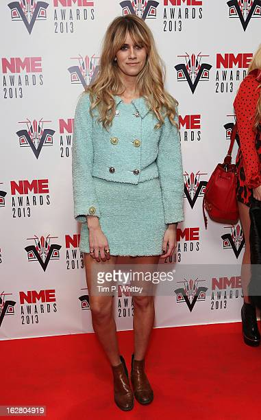 Jade Williams attends the NME Awards 2013 at the Troxy on February 27 2013 in London England
