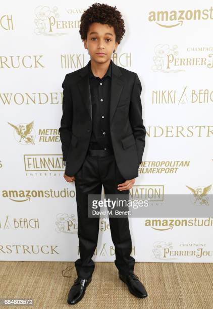 Jaden Michael attends the Amazon Studios official after party for 'Wonderstruck' at the iconic Nikki Beach popup venue during the 70th annual Cannes...