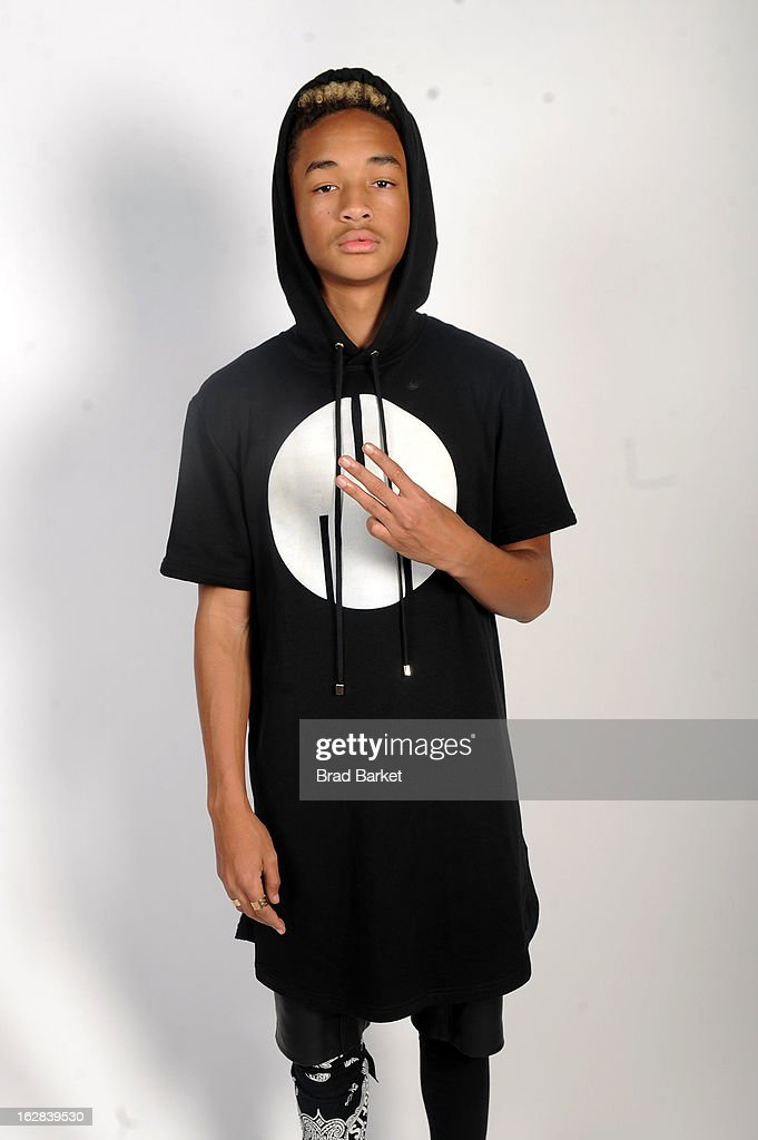 Jaden Smith attends BET's Rip The Runway 2013:Backstage Hammerstein Ballroom on February 27, 2013 in New York City.