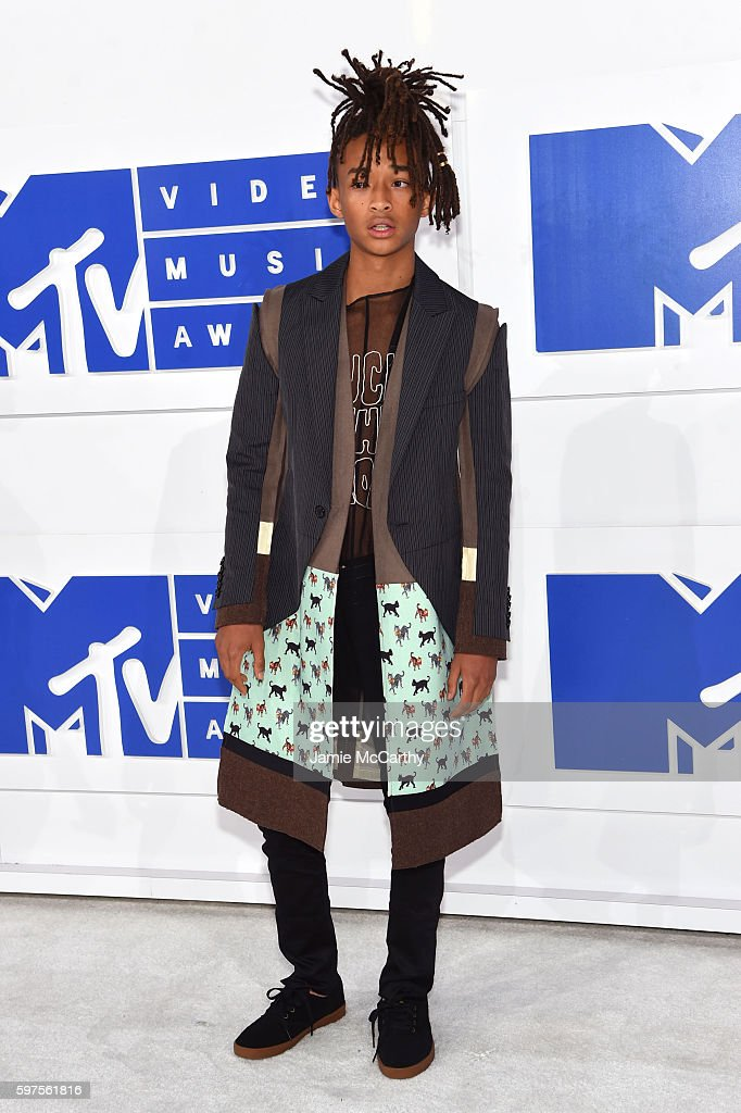 Jaden Smith attends the 2016 MTV Video Music Awards at Madison Square Garden on August 28 2016 in New York City