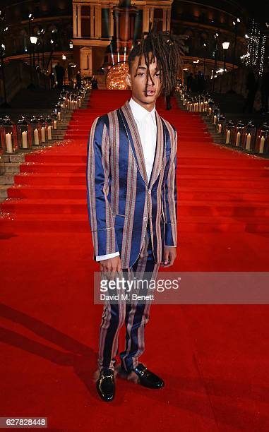 Jaden Smith attends The Fashion Awards 2016 at Royal Albert Hall on December 5 2016 in London United Kingdom