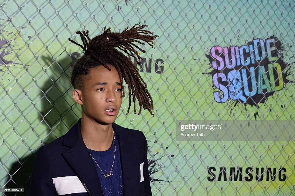 Jaden Smith attends the 'Suicide Squad' World Premiere at The Beacon Theatre on August 1, 2016 in New York City.