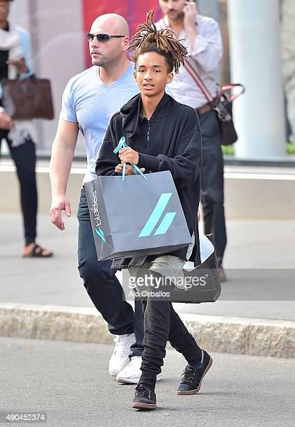 Jaden Smith is seen in Soho on September 28 2015 in New York City