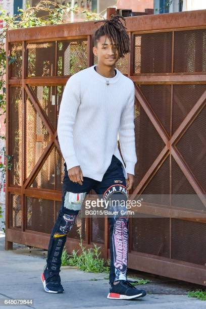 Jaden Smith is seen on February 24 2017 in Los Angeles California
