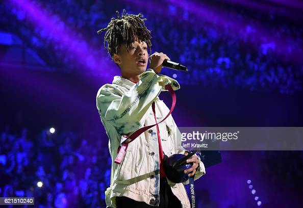 Jaden Smith on stage during the MTV Europe Music Awards 2016 on November 6 2016 in Rotterdam Netherlands