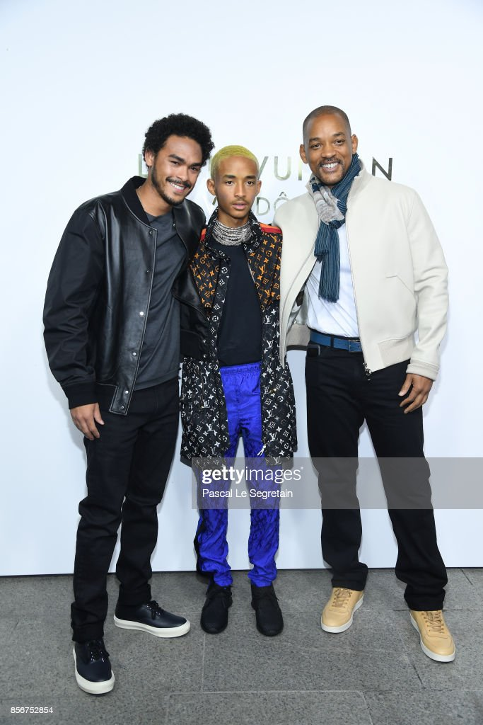 jaden-smith-will-smith-and-a-guest-attend-the-opening-of-the-louis-picture-id856752854