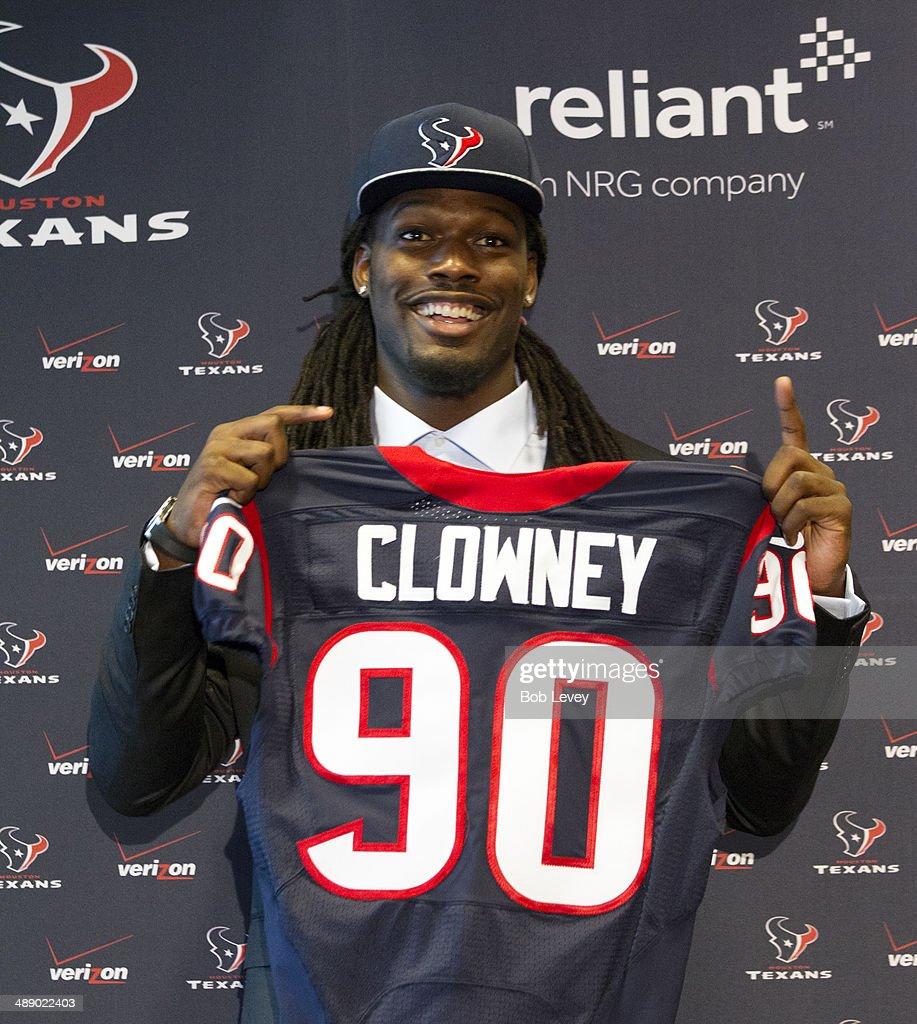 Houston Texans Introduce Jadeveon Clowney s and
