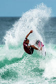Jadson Andre of Brazil surfs during the quarterfinals of the Oi Rio Pro on May 16 2015 in Rio de Janeiro Brazil