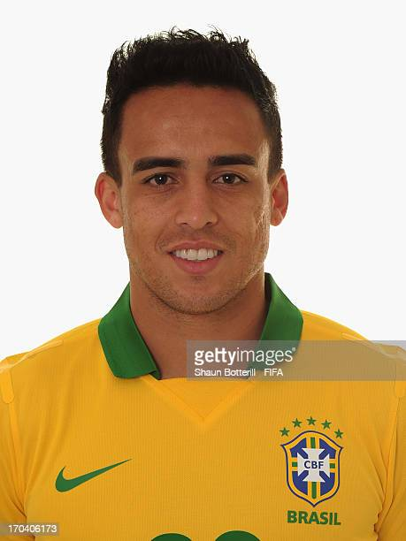 Jadson of Brazil poses for a portrait at the Palace Hotel on June 12 2013 in Brasilia Brazil