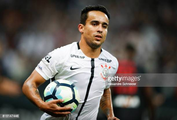 Jadson of Corinthians in action during the match between Corinthians and Atletico PR for the Brasileirao Series A 2017 at Arena Corinthians Stadium...