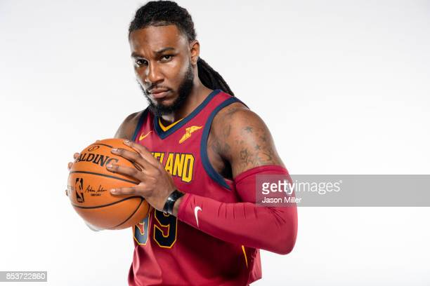 Jae Crowder of the Cleveland Cavaliers poses during media day at Cleveland Clinic Courts on September 25 2017 in Independence Ohio NOTE TO USER User...