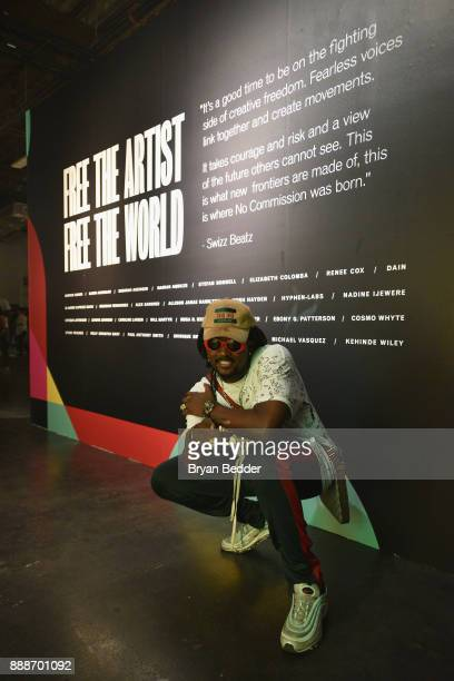 Jae Murphy attends BACARDI Swizz Beatz and The Dean Collection bring NO COMMISSION back to Miami to celebrate 'Island Might' at Soho Studios on...