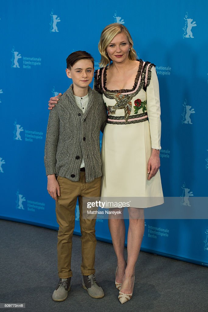 <a gi-track='captionPersonalityLinkClicked' href=/galleries/search?phrase=Jaeden+Lieberher&family=editorial&specificpeople=11117189 ng-click='$event.stopPropagation()'>Jaeden Lieberher</a> and <a gi-track='captionPersonalityLinkClicked' href=/galleries/search?phrase=Kirsten+Dunst&family=editorial&specificpeople=171590 ng-click='$event.stopPropagation()'>Kirsten Dunst</a> attend the 'Midnight Special' photo call during the 66th Berlinale International Film Festival Berlin at Grand Hyatt Hotel on February 12, 2016 in Berlin, Germany.