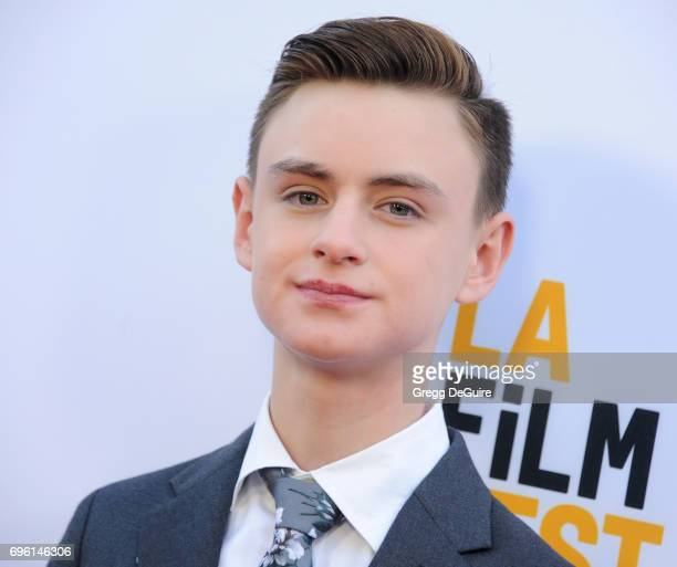 Jaeden Lieberher arrives at the 2017 Los Angeles Film Festival Opening Night Premiere Of Focus Features' 'The Book Of Henry' at Arclight Cinemas...