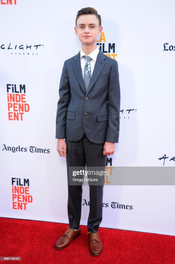 Jaeden Lieberher arrives at the 2017 Los Angeles Film Festival - Opening Night Premiere Of Focus Features' 'The Book Of Henry' at Arclight Cinemas Culver City on June 14, 2017 in Culver City, California.