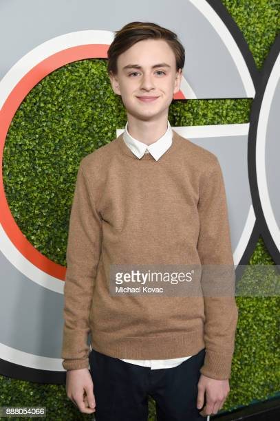 Jaeden Lieberher attends the 2017 GQ Men of the Year party at Chateau Marmont on December 7 2017 in Los Angeles California