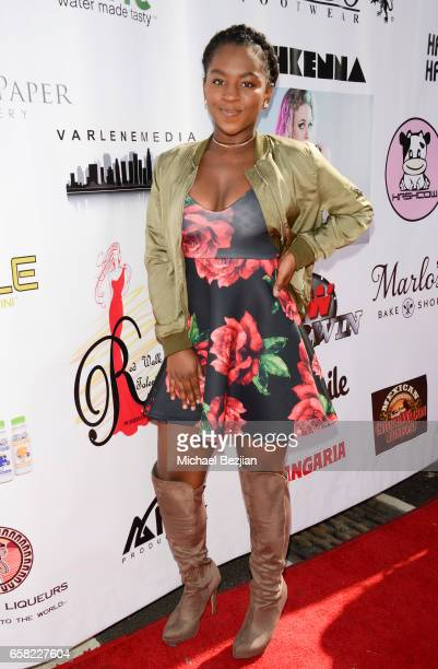 Jae'Lyn Ayauna Godoy arrives at Teen Recording Artist Mahkenna's Sweet 16/Expect2Win Extravaganza at ANC Productions on March 26 2017 in Burbank...