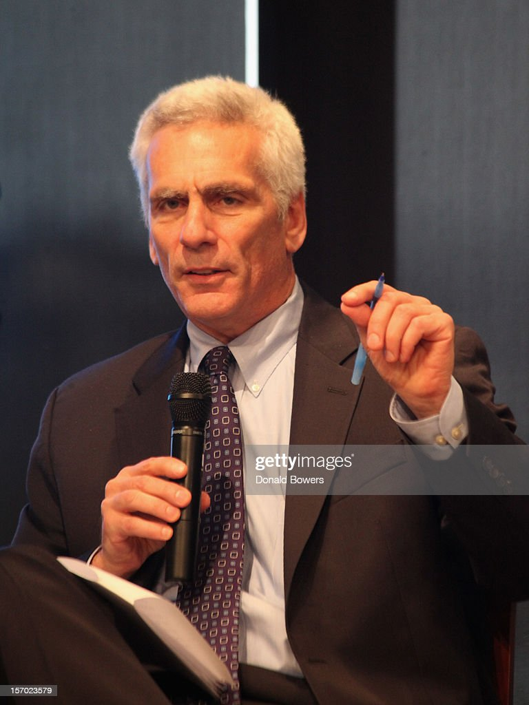 Jafred Bernstein speaks during a panel at The Ford Foundation Hosts Day Of Discussion On The Hidden World Of Domestic Work In The US at Ford Foundation on November 27, 2012 in New York City.