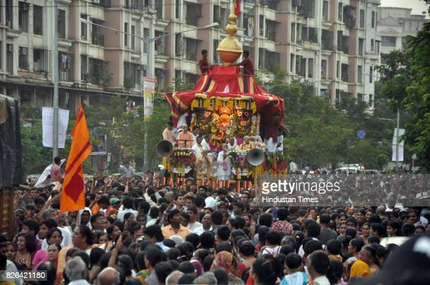 Jagannath Rath Yatra at Mira Road organised by ISKON