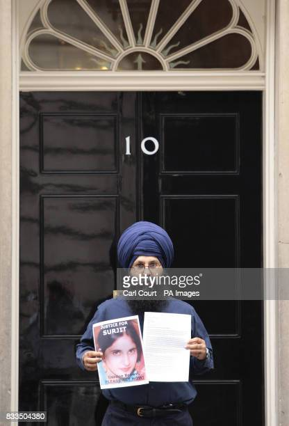Jagdeesh Singh the brother of Surjit Kaur Athwal who was the victim of an honour killing organised by her husband and 70 year old motherinlaw hands...