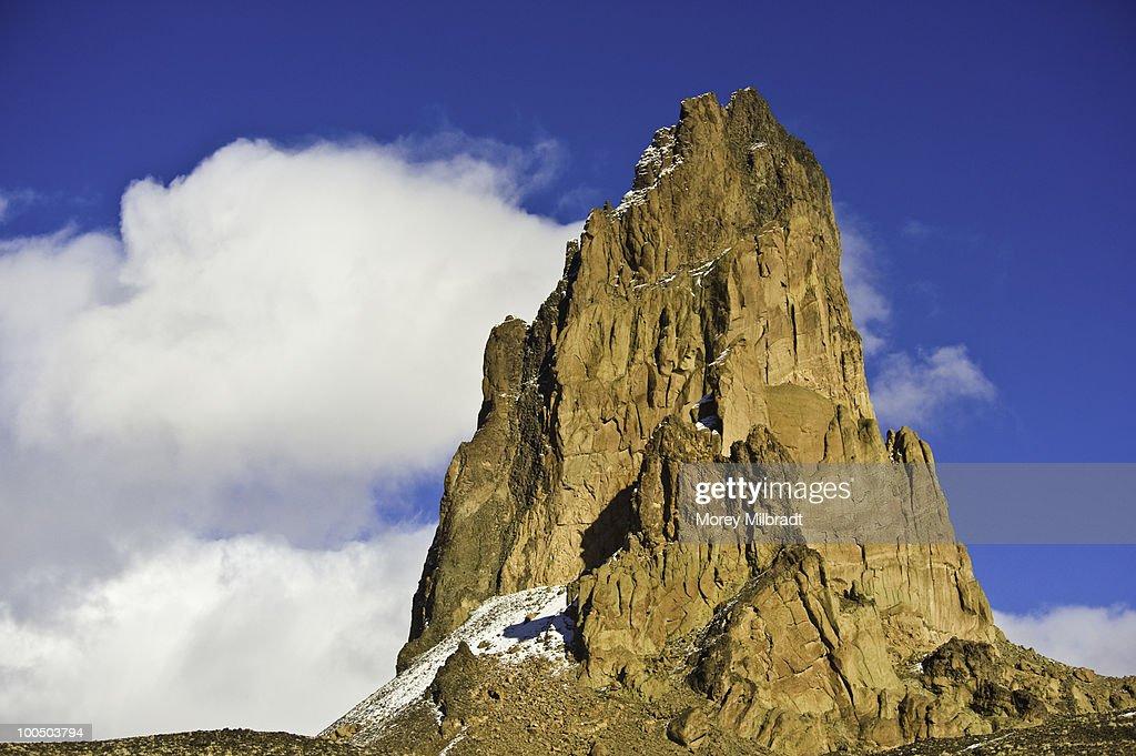 Jagged Mountain Peak. : Stock Photo