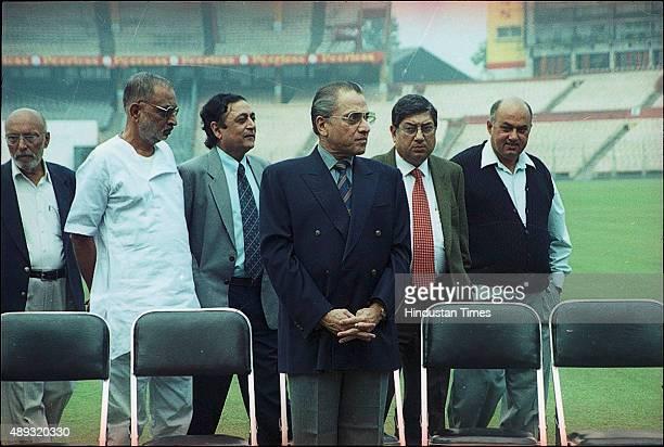 Jagmohan Dalmiya at BCCI special meeting on December 25 2002 in Kolkata India BCCI President Jagmohan Dalmiya died of a heart attack in Kolkata He...