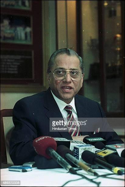 Jagmohan Dalmiya at BCCI special meeting on February 19 2004 in Kolkata India BCCI President Jagmohan Dalmiya died of a heart attack in Kolkata He...