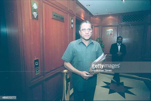 Jagmohan Dalmiya at press meet on May 18 2000 in New Delhi India BCCI President Jagmohan Dalmiya died of a heart attack in Kolkata He was 75 years...
