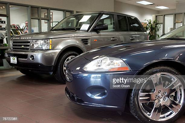jaguar land rover stock photos and pictures getty images. Black Bedroom Furniture Sets. Home Design Ideas
