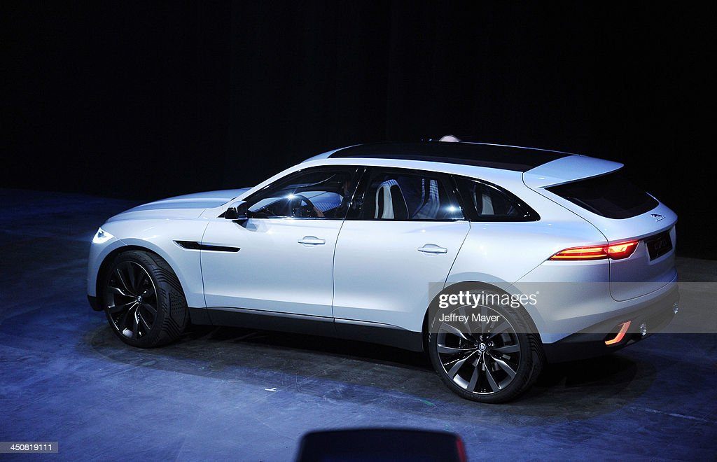 Jaguar CX 17 at the Jaguar F-TYPE Coupe launch party at Raleigh Studios Playa Vista on November 19, 2013 in Playa Vista, California.
