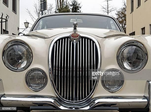 Jaguar Jahrgang Klassische Auto – Ansicht von vorne