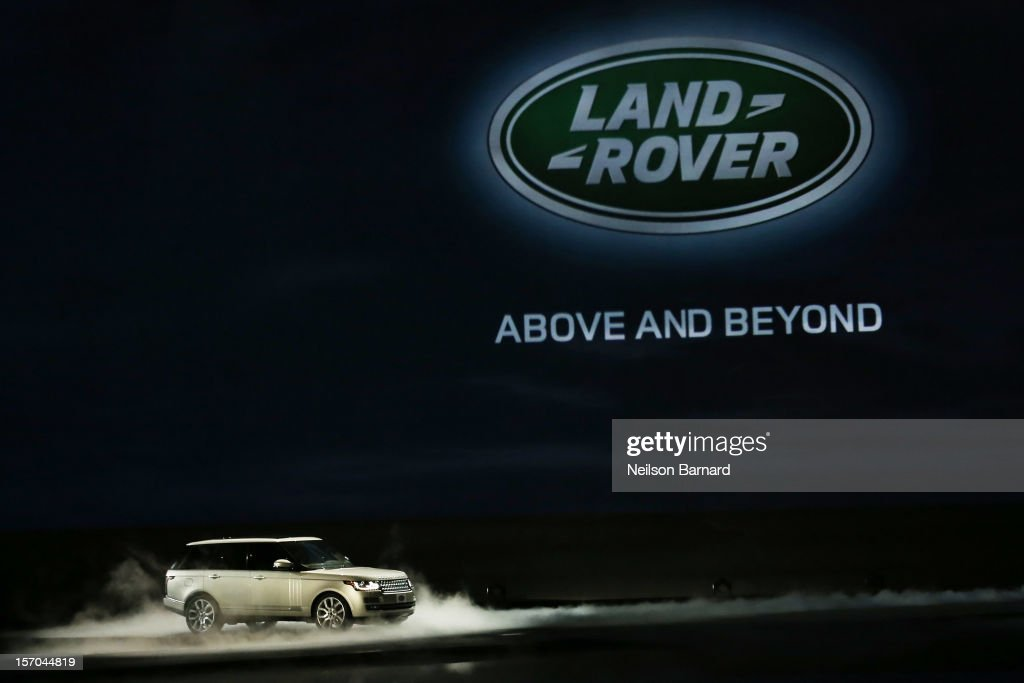 Jaguar Land Rover Host Special VIP Preview To Reveal The F-TYPE And All-New Range Rover At Paramount Studios