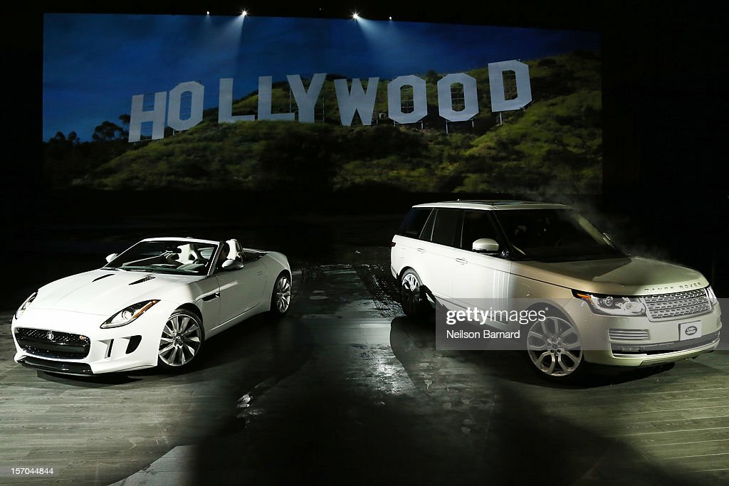 Jaguar's two-seat sports car, the 2014 F-TYPE and the all-new Range Rover, the world's first all-aluminum SUV, were revealed at an exclusive event held at Paramount Pictures Studios on November 27, 2012 in Los Angeles, California.