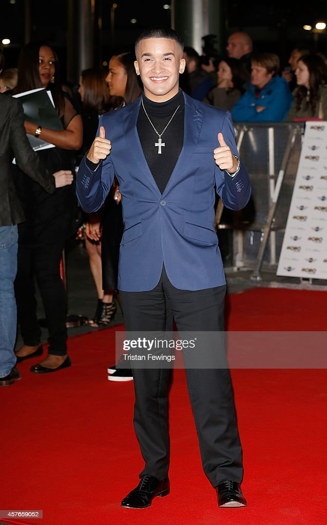 Jahmene Douglas attends the MOBO Awards at SSE Arena on October 22 2014 in London England