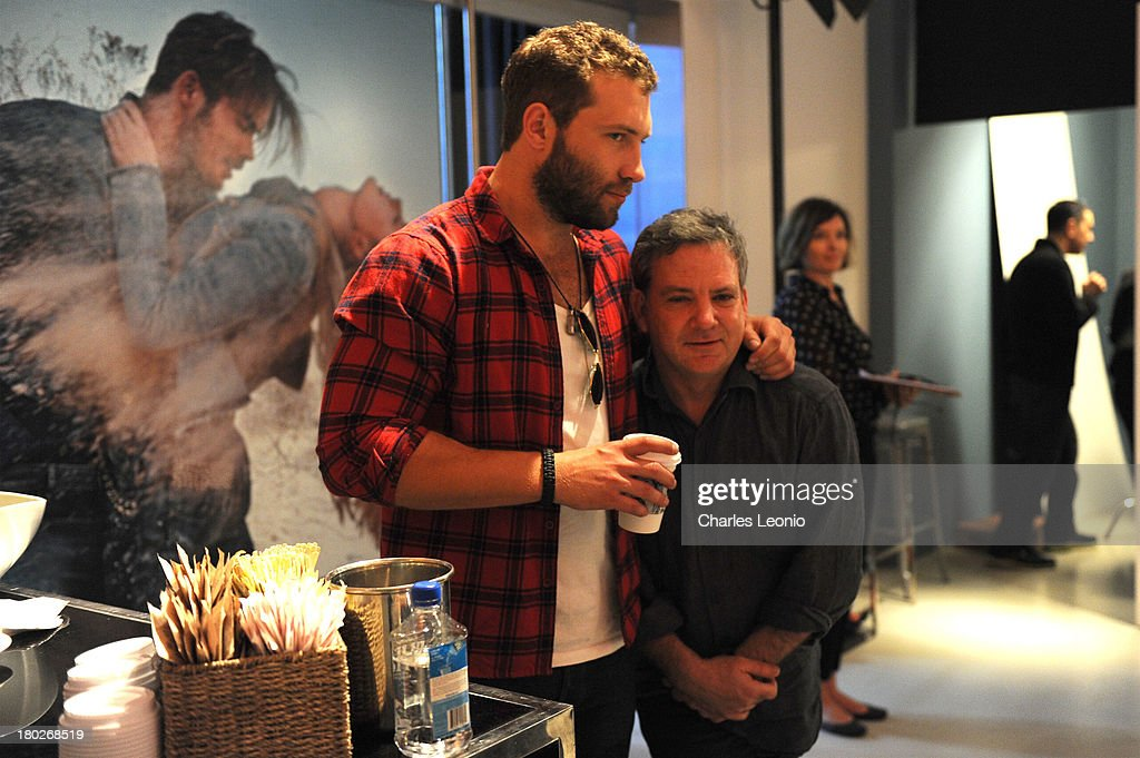 <a gi-track='captionPersonalityLinkClicked' href=/galleries/search?phrase=Jai+Courtney&family=editorial&specificpeople=6723038 ng-click='$event.stopPropagation()'>Jai Courtney</a> and Matthew Saville at Guess Portrait Studio on Day 6 during the 2013 Toronto International Film Festival at Bell Lightbox on September 10, 2013 in Toronto, Canada.