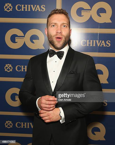 Jai Courtney arrives ahead of the 2015 GQ Men Of The Year Awards on November 10 2015 in Sydney Australia