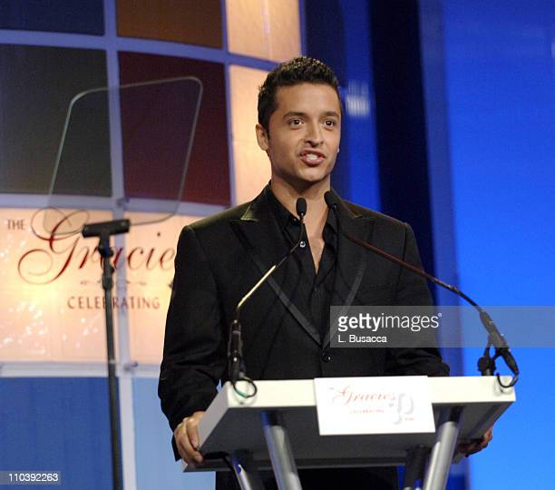 Jai Rodriguez during American Women in Radio Television 30th Annual Gracie Allen Awards Show at New York Marriot Marquis Hotel in New York City New...