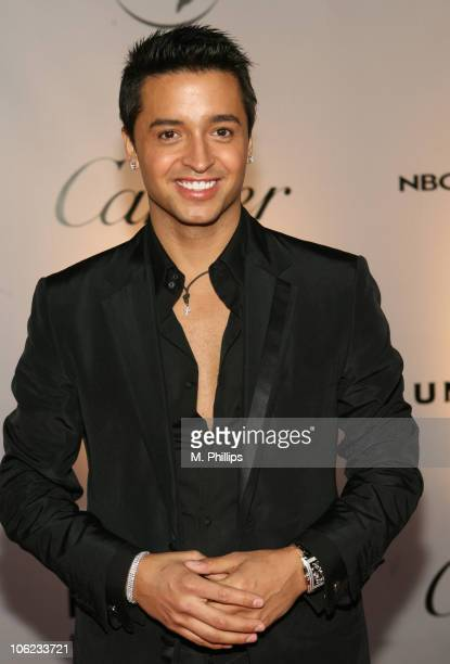 Jai Rodriguez during Focus Features and Universal's 2007 Golden Globe After Party Arrivals at Beverly Hilton in Los Angeles California United States