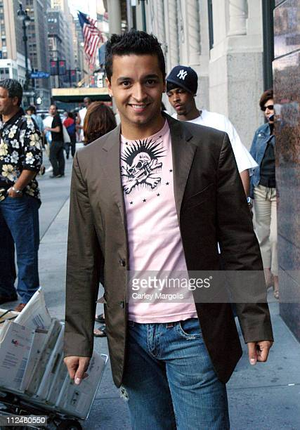 Jai Rodriguez during Jai Rodriguez Visits Fuse's 'Daily Download' July 26 2004 at FUSE Studios in New York City New York United States