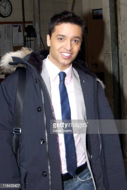 Jai Rodriguez during The Fab 5 From 'Queer Eye for the Straight Guy' Visit 'Live with Regis Kelly' February 2 2006 in New York City New York United...