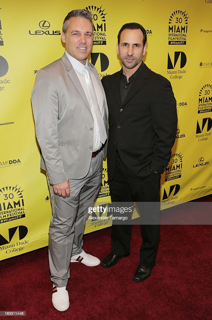 Jaie Laplante and Oscar Torre attend 'Eenie Meenie Miney Moe' Premiere during the 2013 Miami International Film Festival at Gusman Center for the Performing Arts on March 7, 2013 in Miami, Florida.