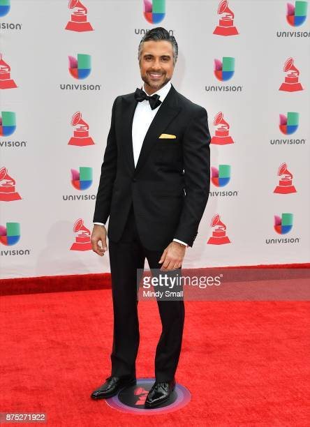 Jaime Camil attends the 18th Annual Latin Grammy Awards at MGM Grand Garden Arena on November 16 2017 in Las Vegas Nevada