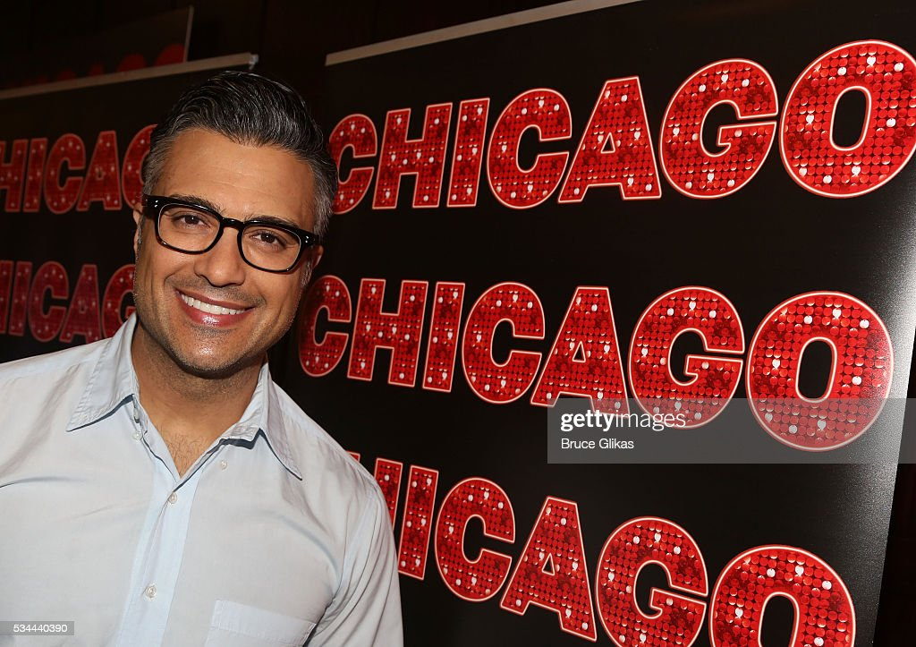 Jaime Camil meets the press as he prepares to join 'Chicago' on Broadway as 'Billy Flynn' (from May 31- July 3) at The Algonquin Hotel on May 26, 2016 in New York City.