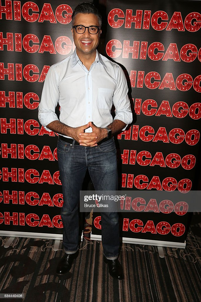 <a gi-track='captionPersonalityLinkClicked' href=/galleries/search?phrase=Jaime+Camil&family=editorial&specificpeople=580441 ng-click='$event.stopPropagation()'>Jaime Camil</a> meets the press as he prepares to join 'Chicago' on Broadway as 'Billy Flynn' (from May 31- July 3) at The Algonquin Hotel on May 26, 2016 in New York City.
