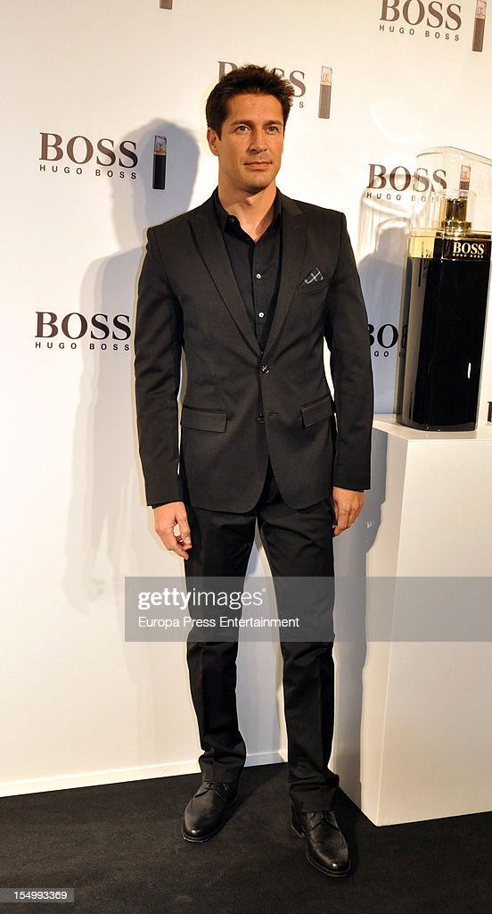 Jaime Cantizano attends the launch of 'Boss Nuit Pour Femme' fragrance on October 29, 2012 in Madrid, Spain.