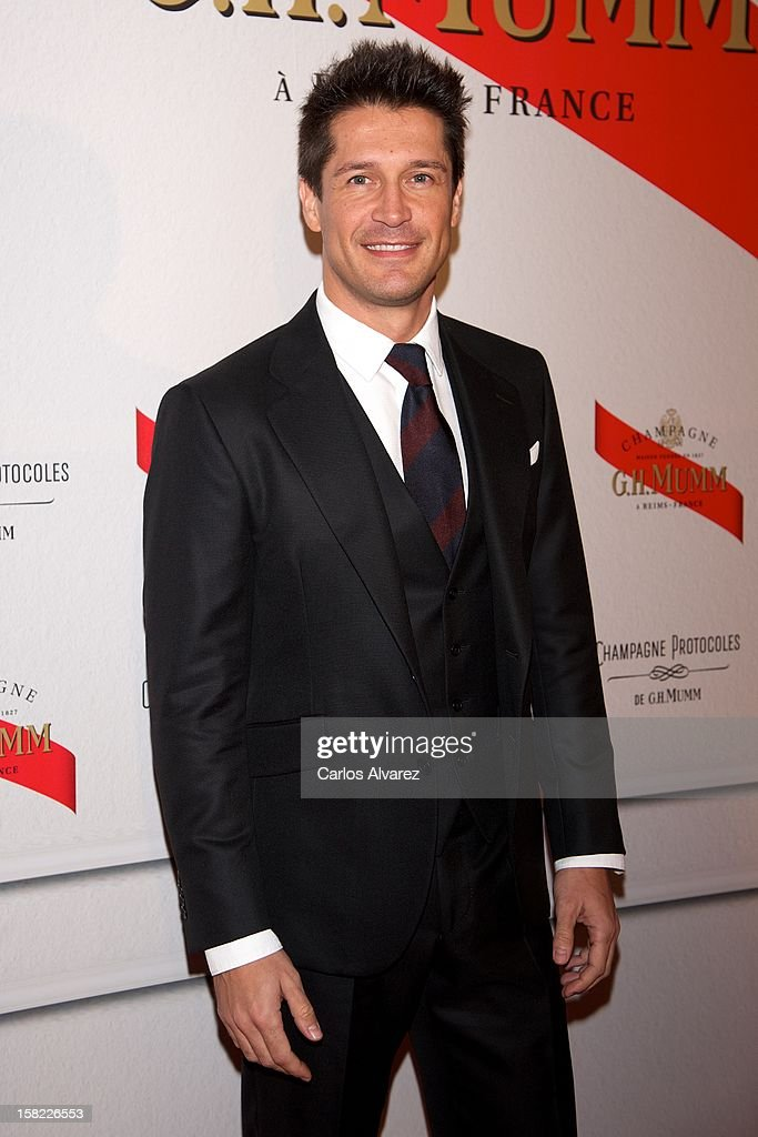 Jaime Cantizano attends the Maison Mumm inauguration at the Santo Mauro Hotel on December 11, 2012 in Madrid, Spain.